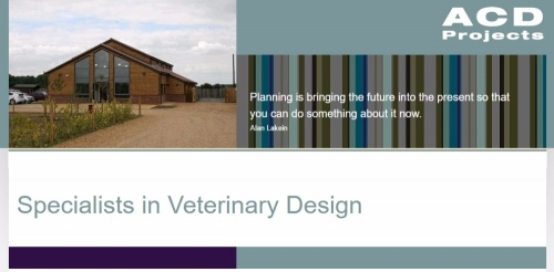 Veterinary Design Specialists from ACD Projects