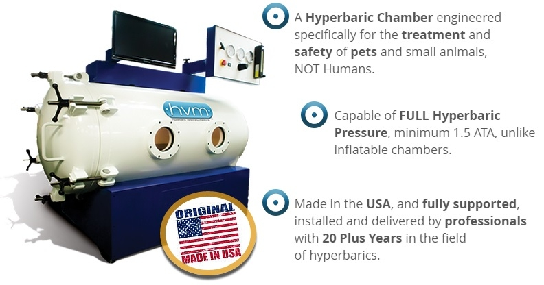 Hyperbaric Chamber engineered for pets