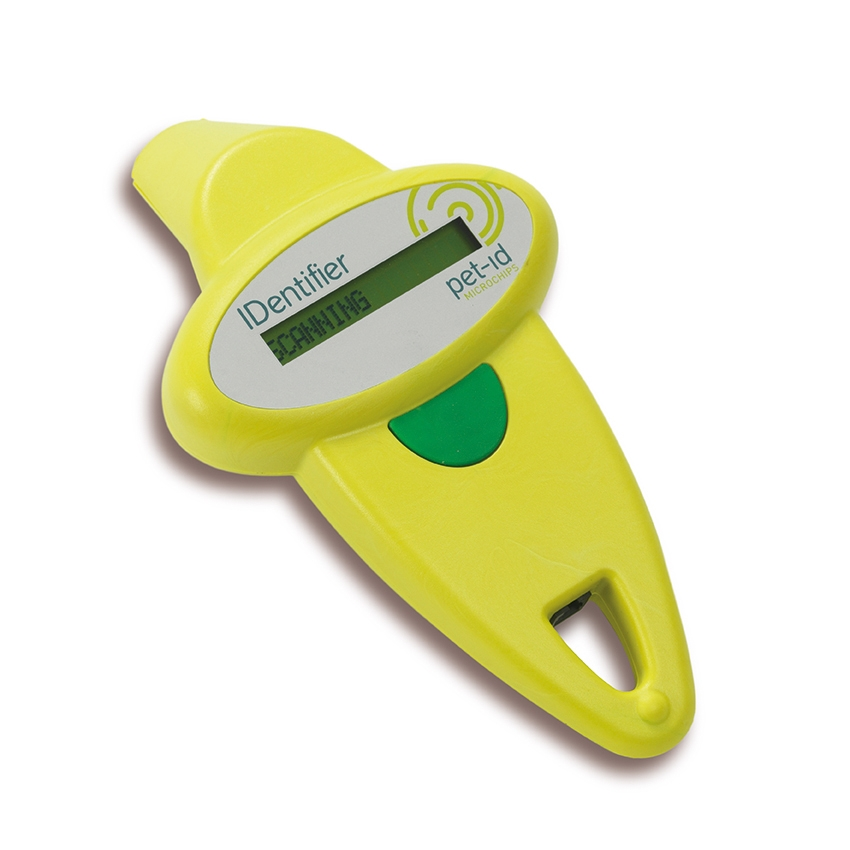 Pet-ID Microchips - Identifier Scanner - Lime