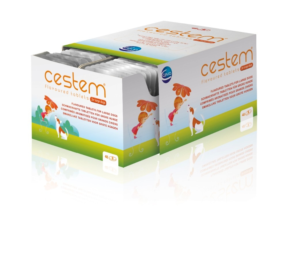 Cestem - broad spectrum wormer for dogs - by Ceva