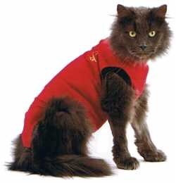 Medical Pet Shirts for Cats - Red