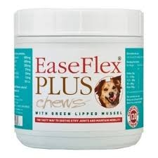 Easeflex plus chews nutritional supplement for dogs by Ceva