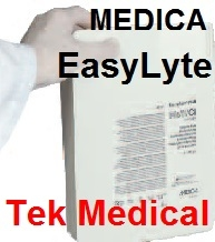 EasyLyte Solutions Packs, Electrodes & Spares from Tek Medical Ltd